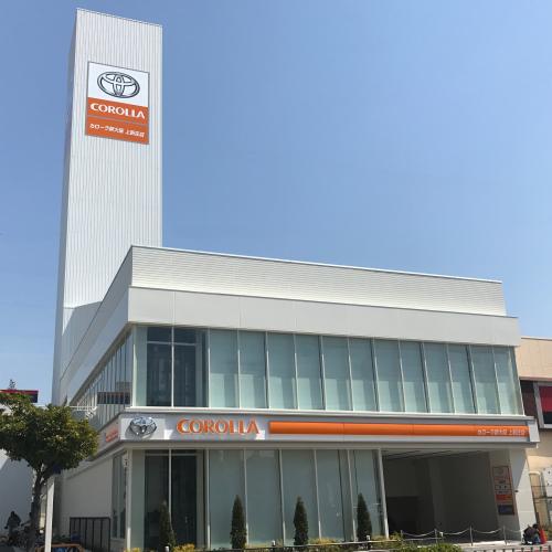 トヨタカローラ大阪(株)新大阪上新庄店新築